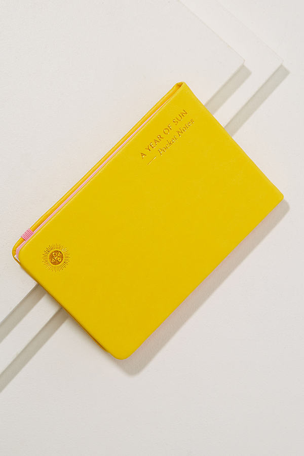 Year Of Sun Notebook - Yellow Motif
