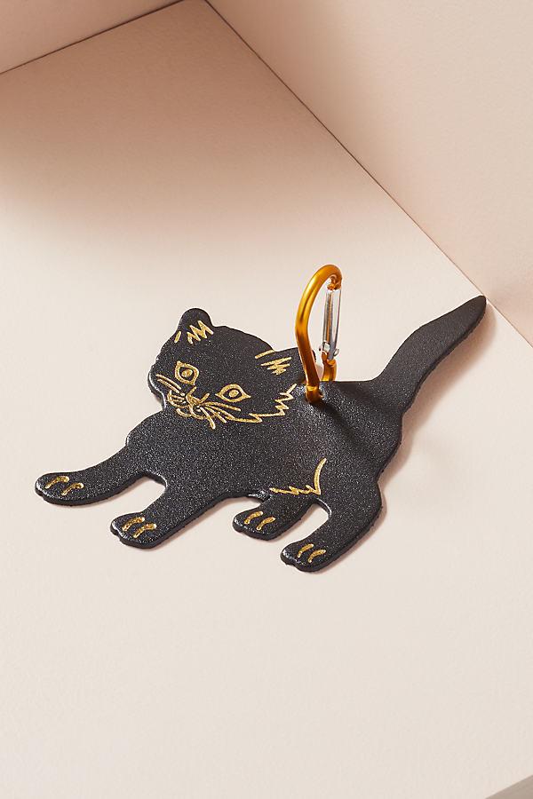 Cat Bag Tag - Black
