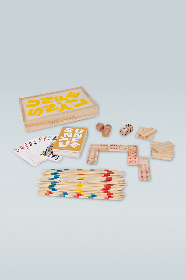 4-In-1 Travel Game Set