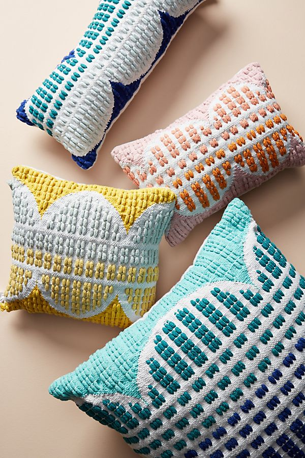 Sabrina Indoor/Outdoor Pillow | Anthropologie