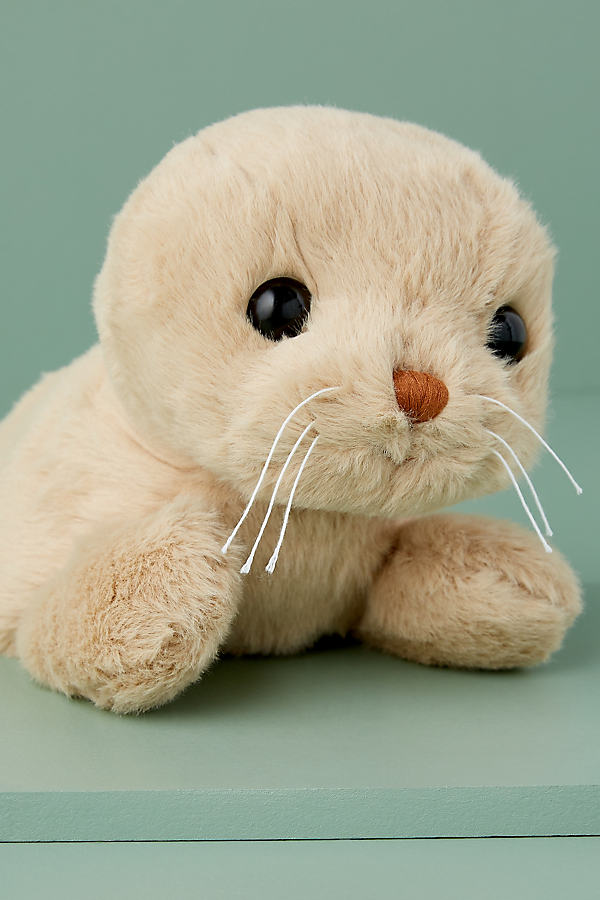 Toy Seal - Beige, Size Small