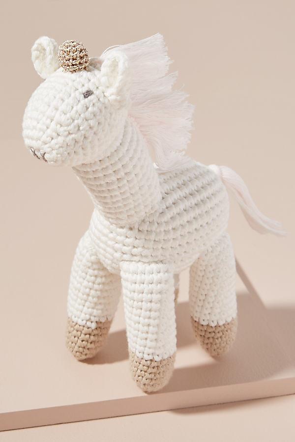 Unicorn Toy - White