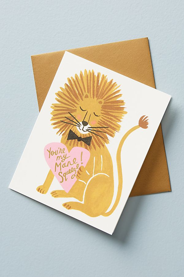 my mane squeeze card anthropologie