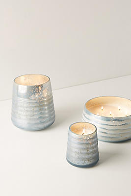 Slide View: 7: Frosted Glass Candle