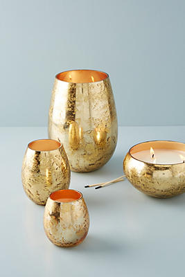 Slide View: 5: Gold Foil Candle