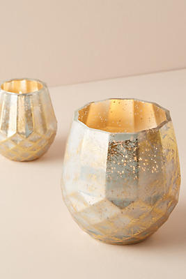 Slide View: 3: Faceted Candle