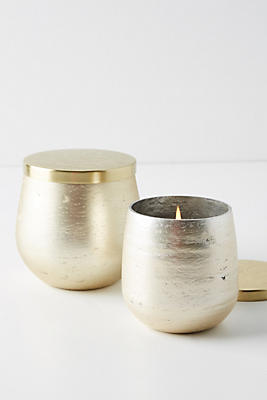 Slide View: 1: Pearlized Jar Candle