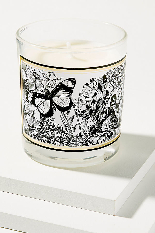 Country Garden Candle - White