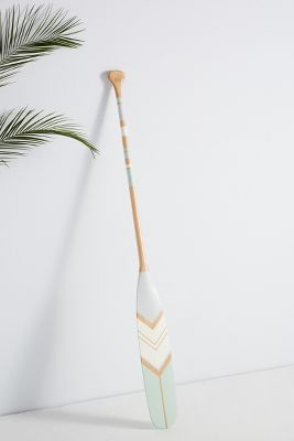 Anguilla Decorative Oar by Ropes & Wood