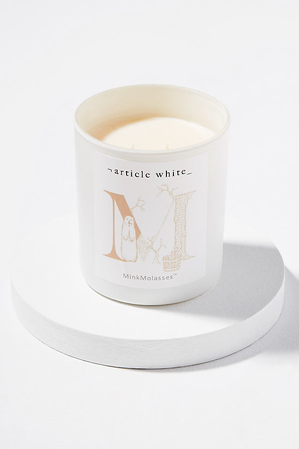 Article White Candles - Beige
