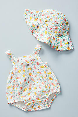 Slide View: 3: Under the Sea Baby Romper