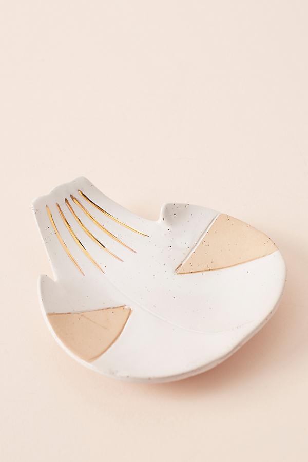 Ivy Weinglass Palm Trinket - White, Size S