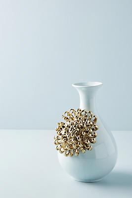 Ceramic Bloom Vase by Anthropologie