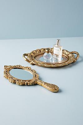 Slide View: 2: Looking Glass Vanity Set