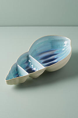 Slide View: 1: Conch Serving Dish