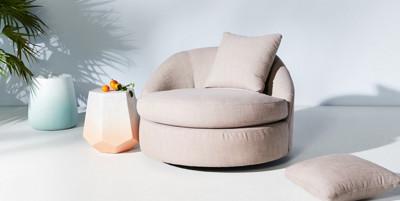 Barwick Outdoor Swivel Chair