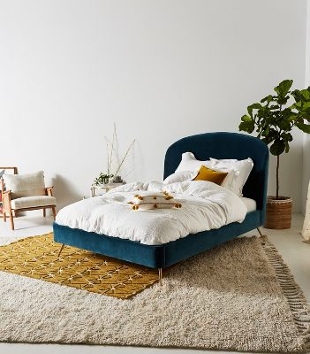 Bohemian Bed Frames & Unique Headboards | Anthropologie on Modern Boho Bed Frame  id=62853