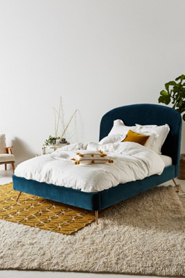 Custom Beds Bed Frames Upholstered Headboards Anthropologie