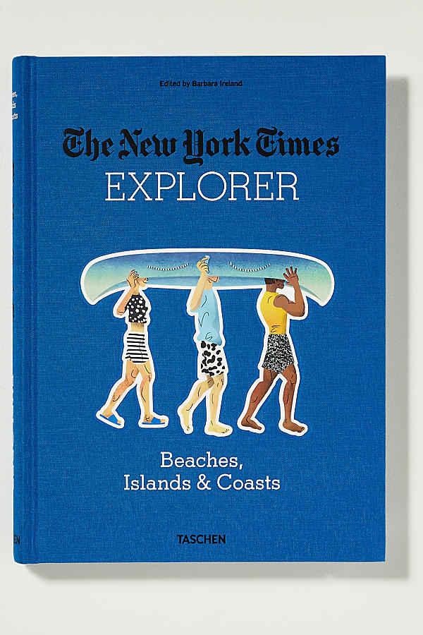 Explorer: Beaches, Islands & Coasts - Blue Motif