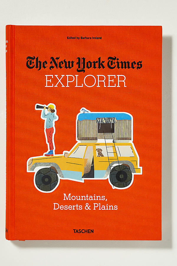 Explorer: Mountains, Deserts & Plains - Bright Red