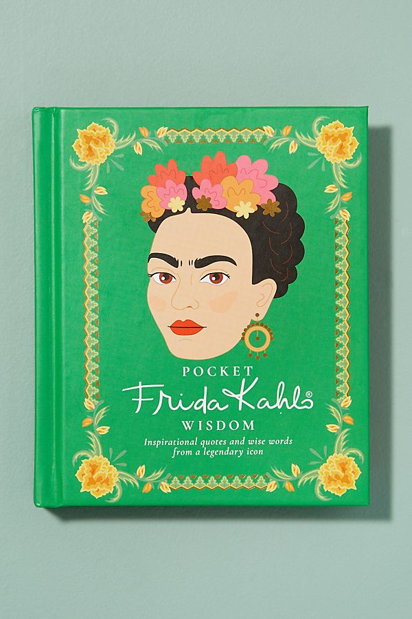 Slide View: 1: Pocket Frida Kahlo Wisdom