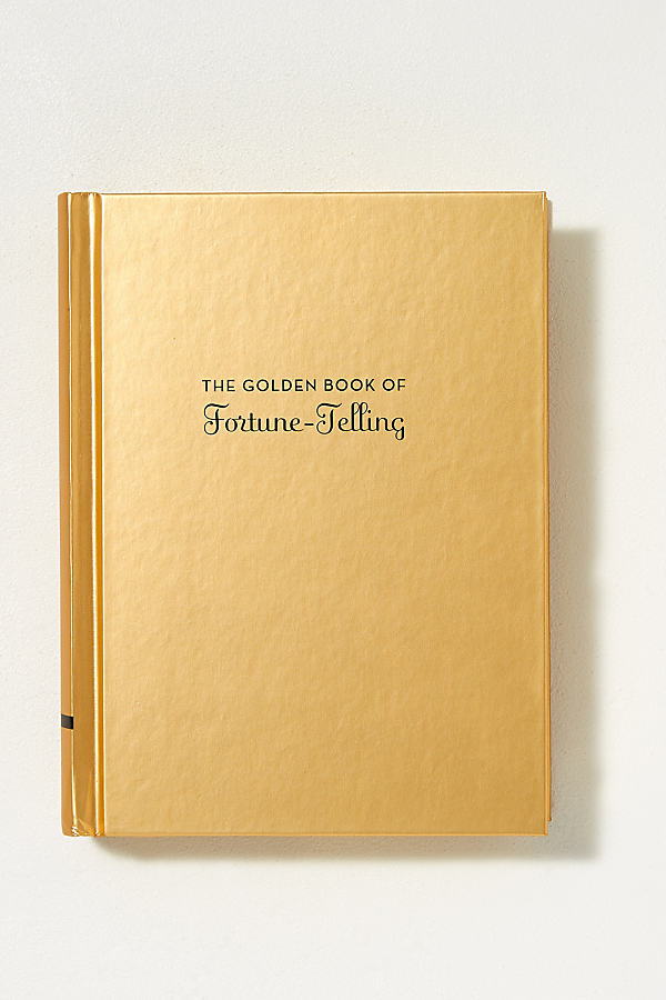 The Golden Book Of Fortune Telling - Gold