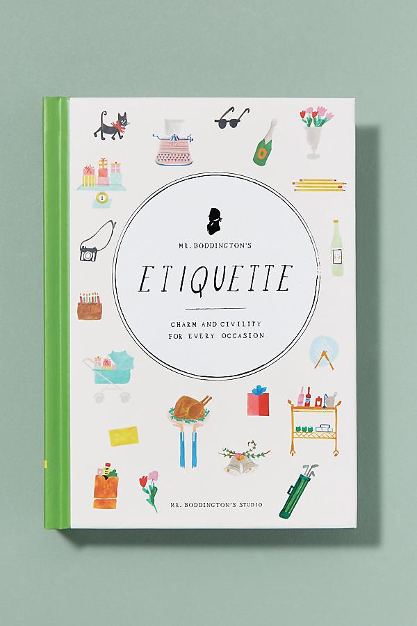 Mr Boddington´s Etiquette - White