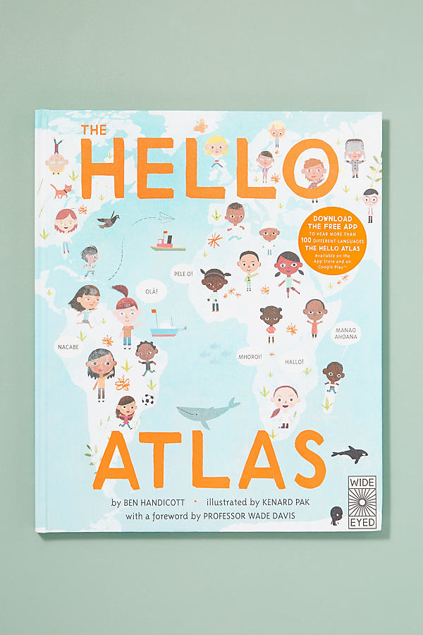 Buch: The Hello Atlas - Blue