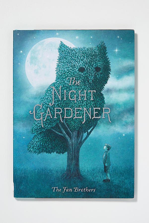 The Night Gardener - Blue Motif