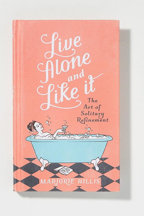 Buch: Live Alone And Like It - Orange