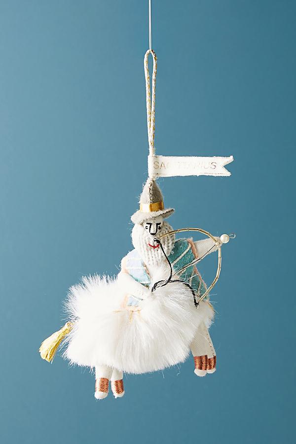 Zodiac Ornament - Denim Medium Blue