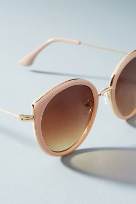Pink Cat-Eye Sunglasses