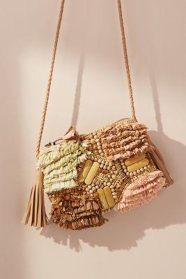 Antik Batik   Antik Batik Tuk Crossbody Bag  -    WHITE
