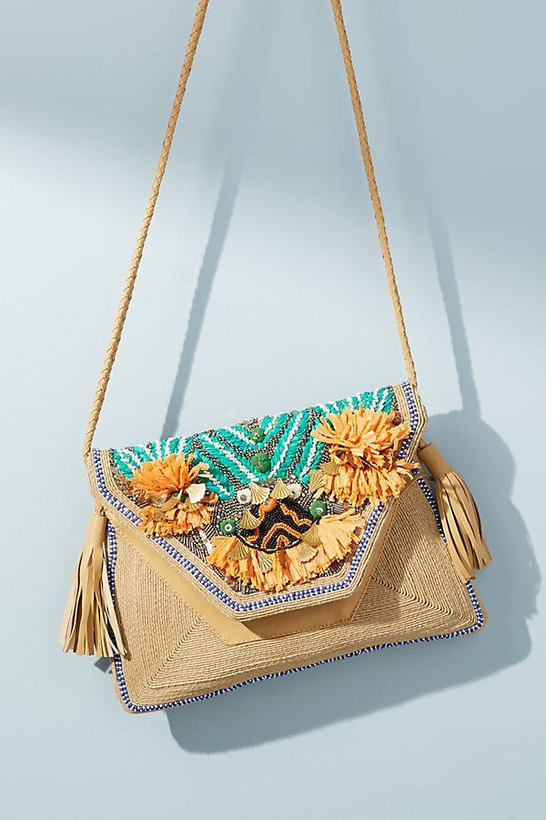 Antik Batik Pallas Envelope Crossbody Bag