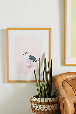 Slide View: 1: Seagull Wall Art