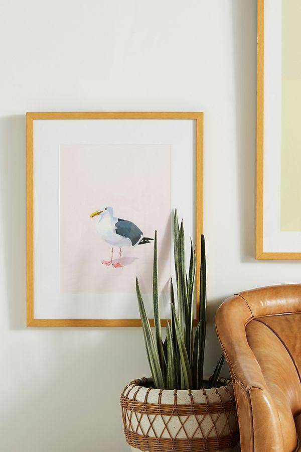 Slide View: 1: Seagull Wall Art