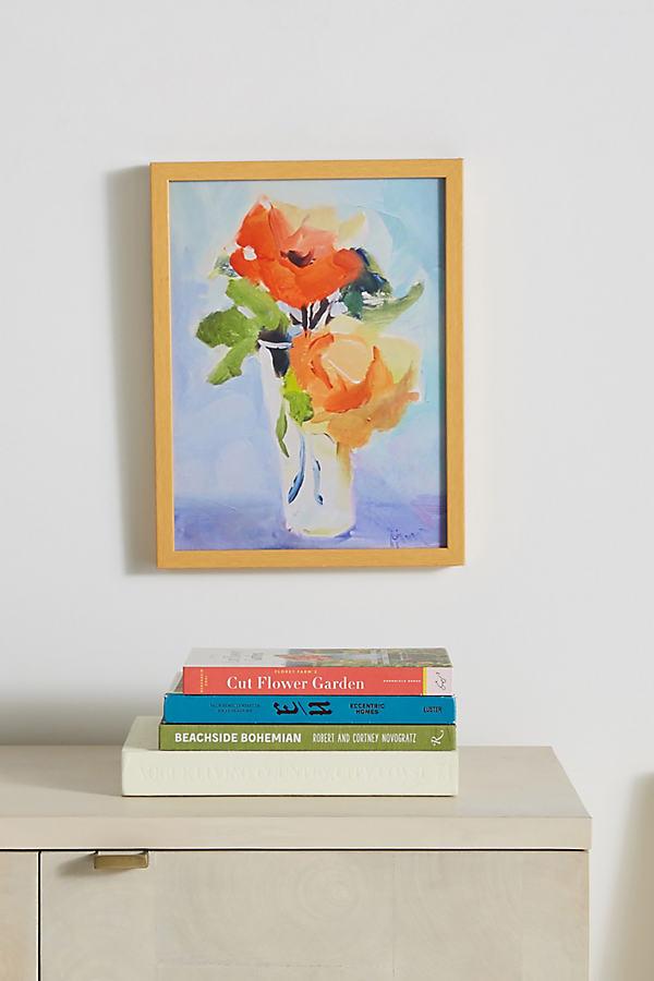 Orange Roses Wall Art - Orange