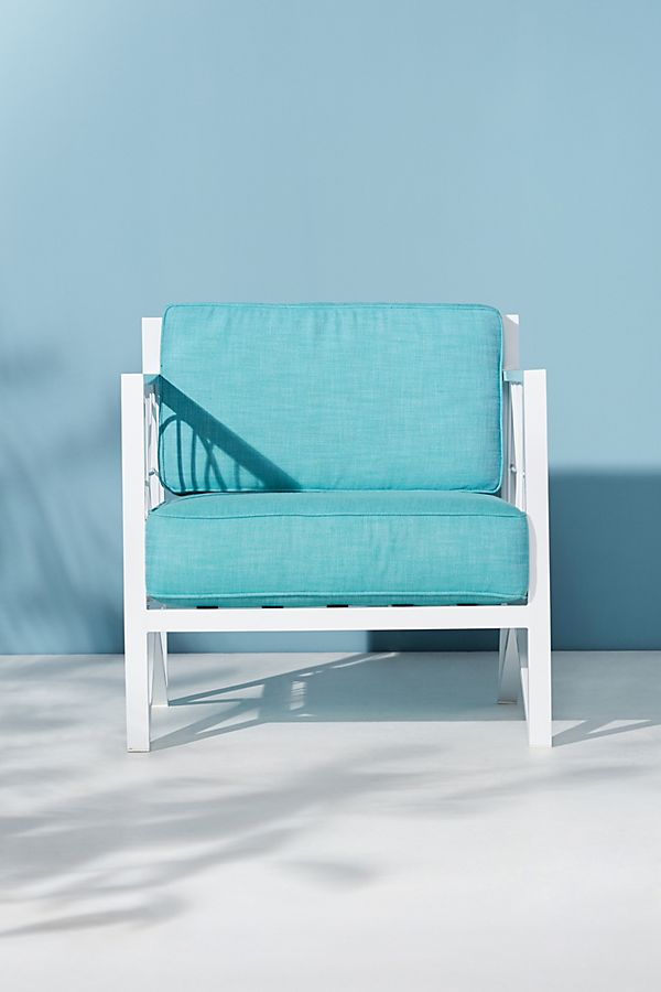 Poolside Outdoor Chair Cushion Set Anthropologie