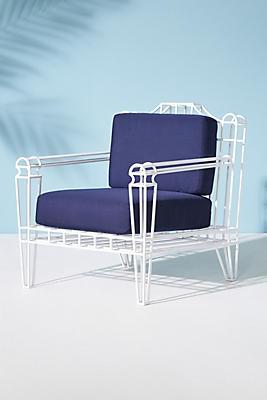 Slide View: 1: Xavier Indoor/Outdoor Chair Cushion Set