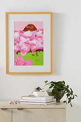 Slide View: 1: Sakura Wall Art
