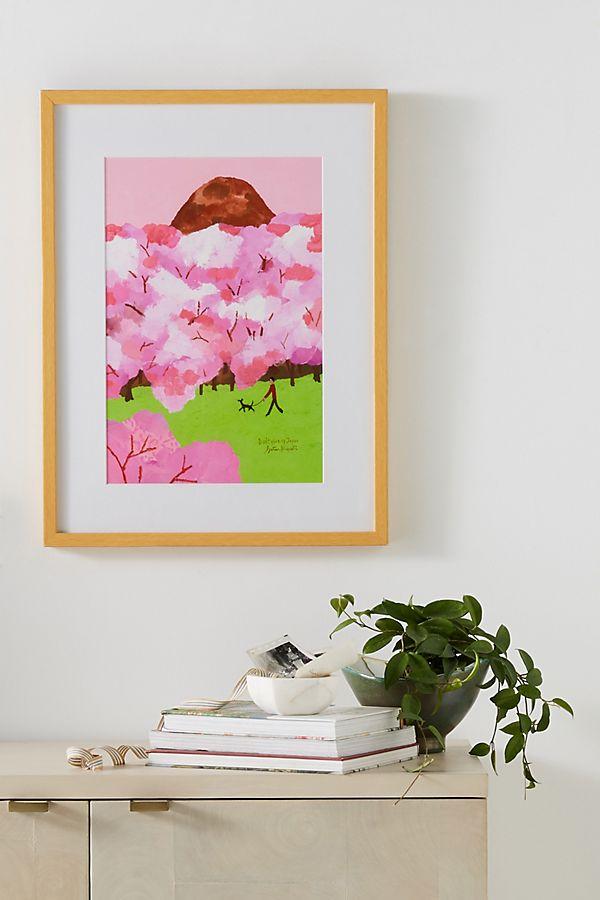 Slide View: 1: Sakura Wall Art