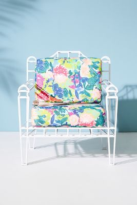 Xavier Indoor/Outdoor Chair Cushion Set by Anthropologie