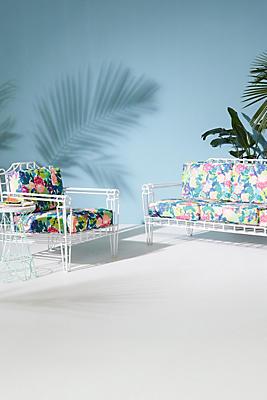 Slide View: 4: Xavier Indoor/Outdoor Chair Cushion Set