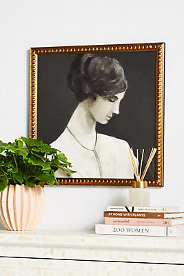 Slide View: 1: Portrait of a Woman Wall Art