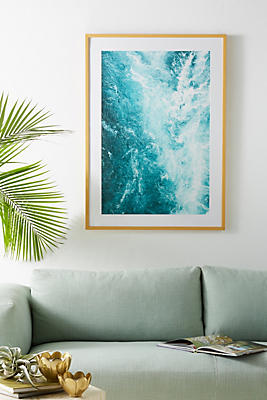 Slide View: 1: Calming Rapids Wall Art