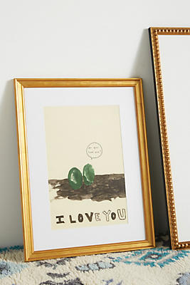 Slide View: 1: I Love You Wall Art