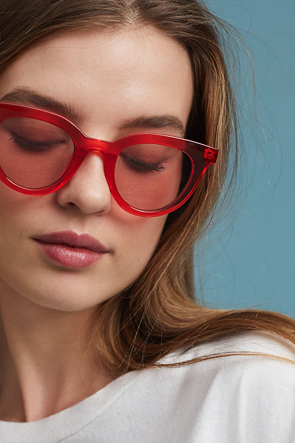 Hotsy Totsy Sunglasses - Red