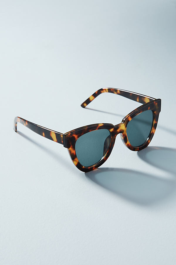 Vivian Tortoiseshell Sunglasses - Brown Motif