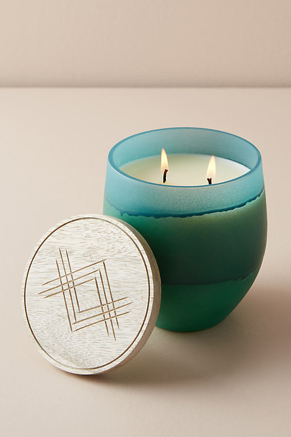 Dip-Dyed Candle - Green