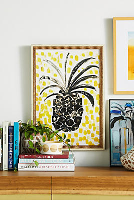 Slide View: 1: Pineapple Wall Art